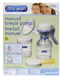 The First Years BPA Free Manual Breast Pump