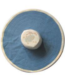 MoBoleez Breastfeeding Bonnet in Milky Way in Blue