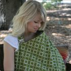 Hooter Hiders Pocket Nursing Cover in Aero