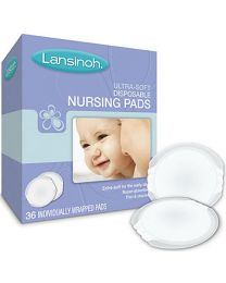 Lansinoh Ultra Soft Breast Pads-36 Count