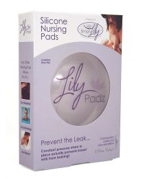 Simply Lily LilyPadz Silicone Nursing Pads - Two Pair