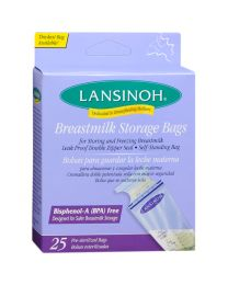 Lansinoh Breastmilk Storage Bags - 25 count