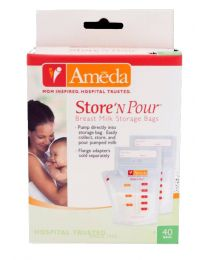 Ameda Store 'N Pour Breast Milk Bags