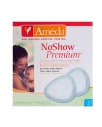 Ameda NoShow Premium Disposable Nursing Pads 30 ct